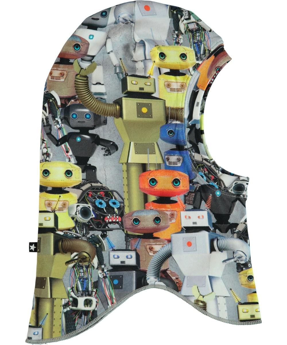 Nate - Robots - Balaklava med tryck av robotar.
