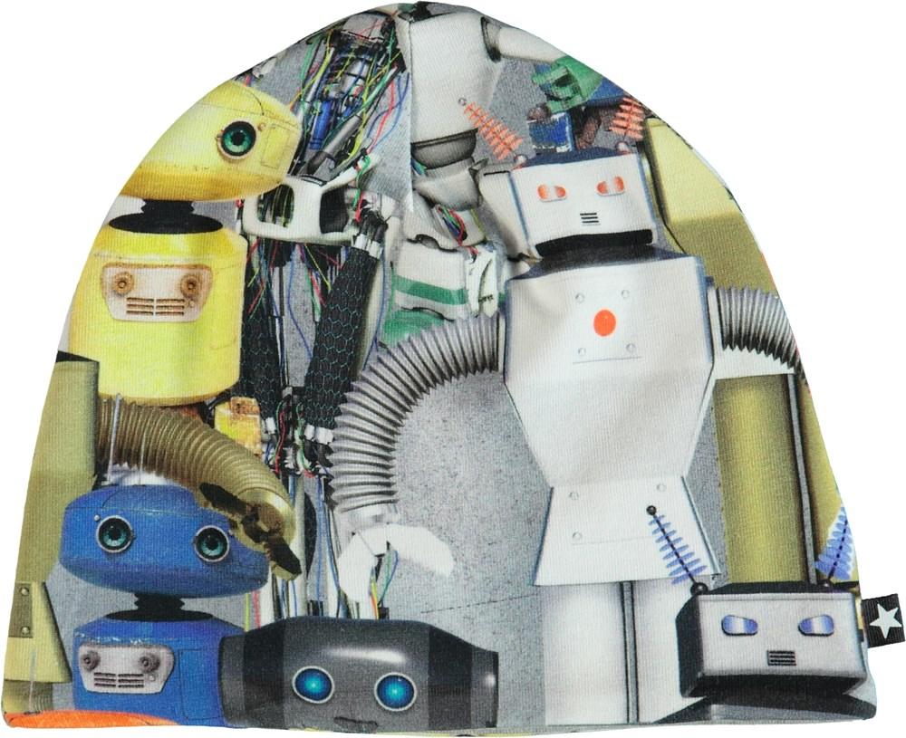 Ned - Robots - Mössa med tryck av robotar.