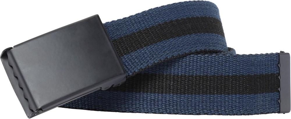 Nite - Sea - Svart och blått randigt bälte