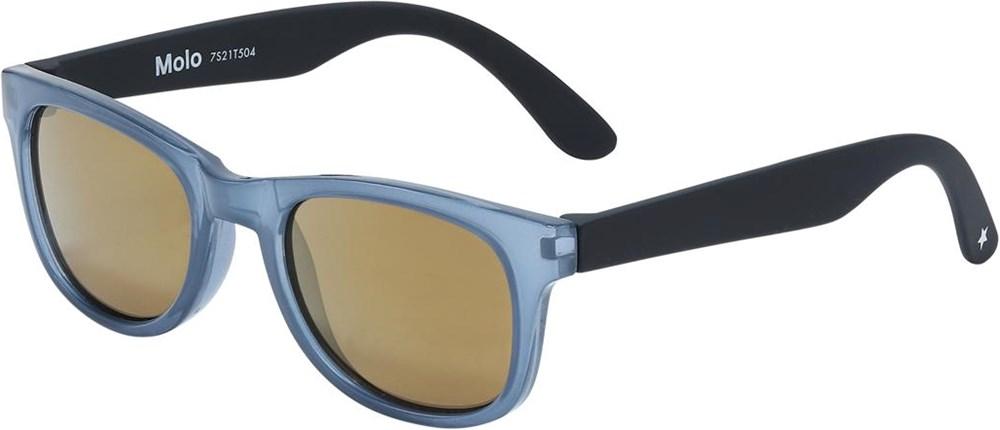 Star - Deep Blue - Blå solglasögon med UV-skydd