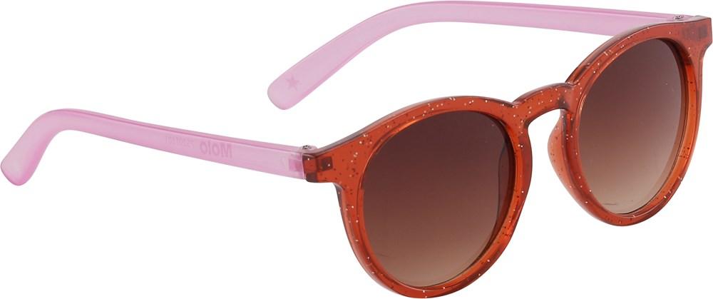 Sun Shine - Red Sand - Röda och pink solglasögon