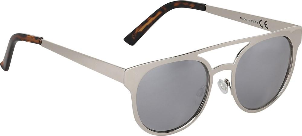 Sunset - Chrome - Solglasögon med silverfärgade metallbågar