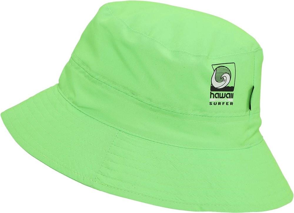 Savon - Scuba Green - Neongrön bucket hat