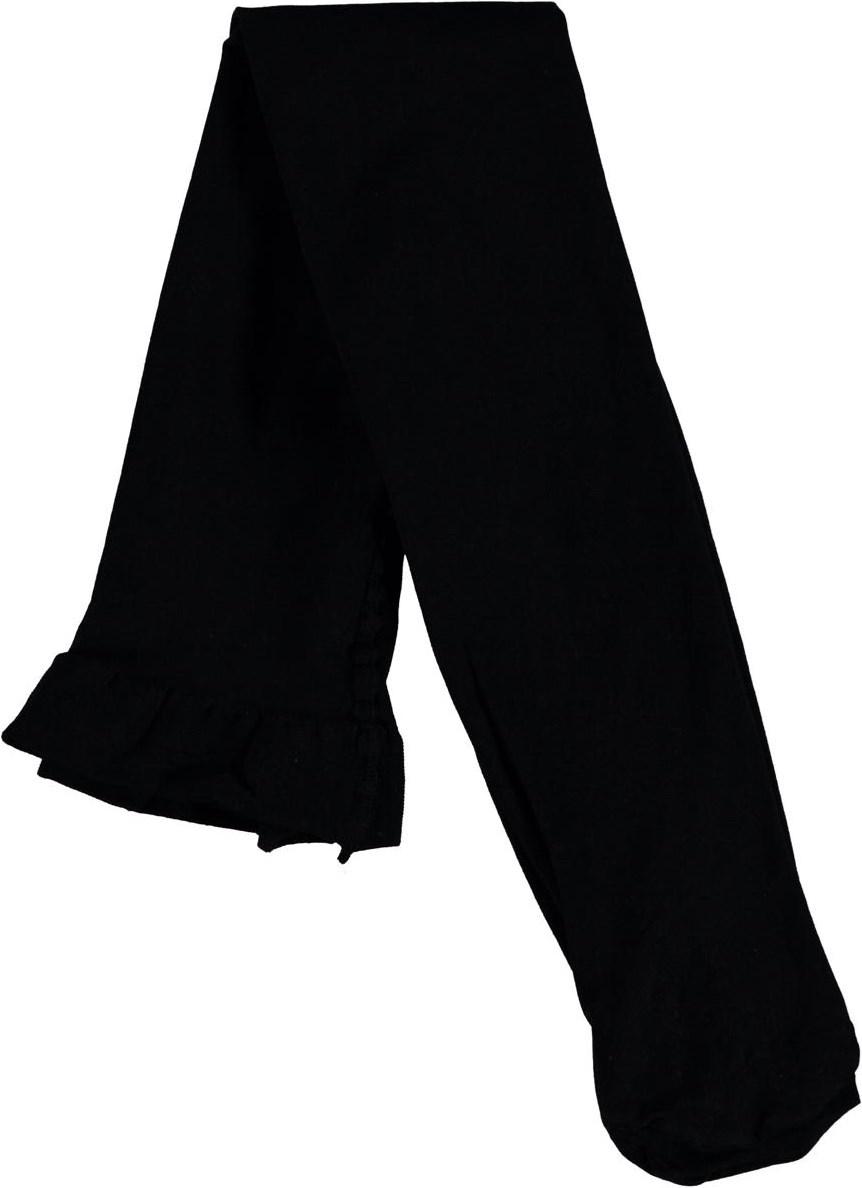 Micro Fiber Tights - Black - Två par svarta strumpbyxor.