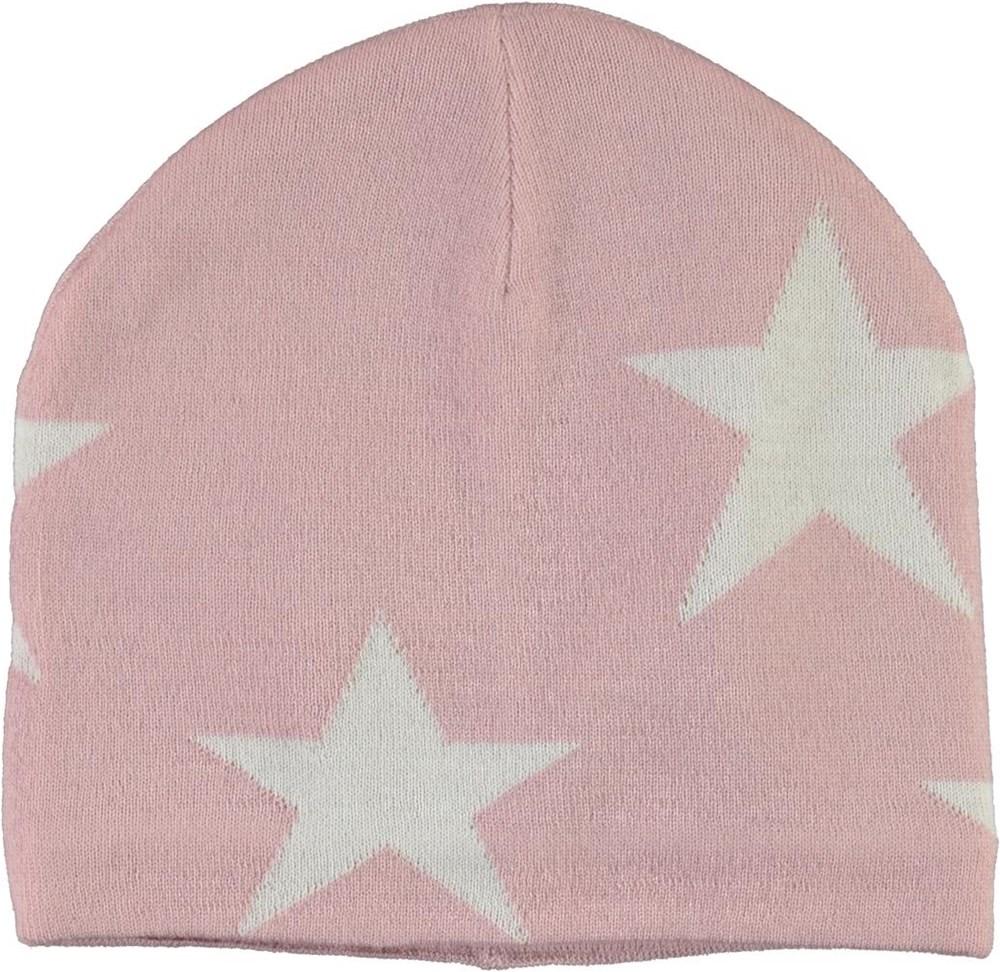 Colder - Blue Pink - Rosa mössa med stjärnor.