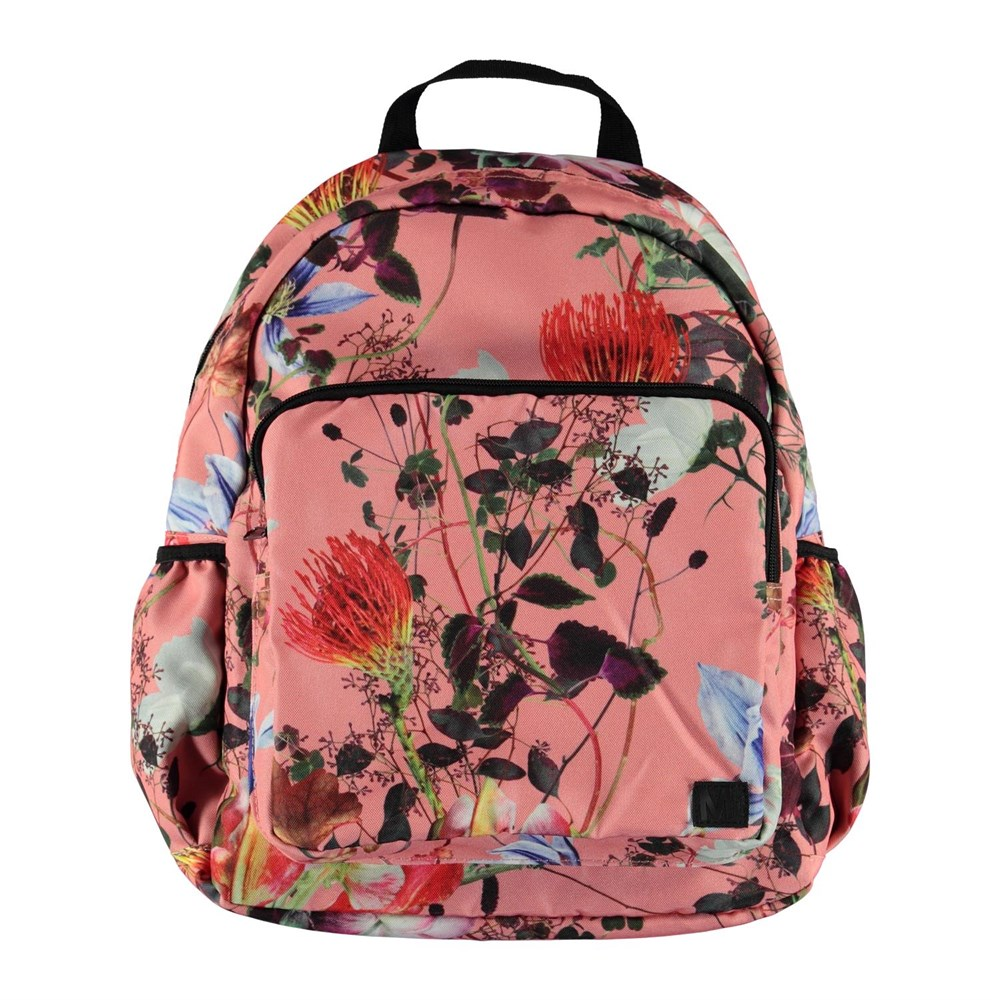 Big backpack - Flowers Of The World - Stor blommig ryggsäck.