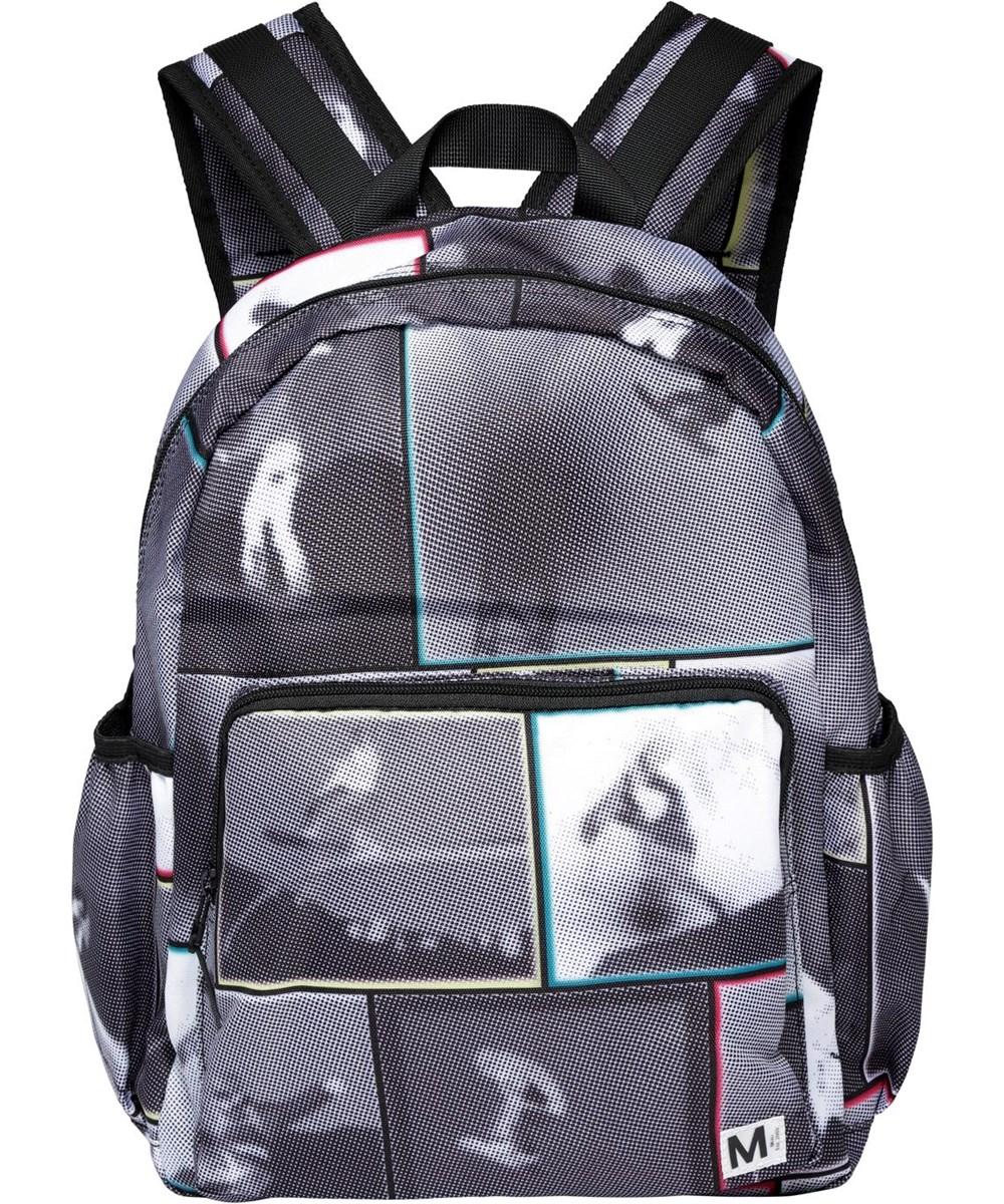 Big Backpack - Snowboarding - Återvunnen ryggsäck med snowboard