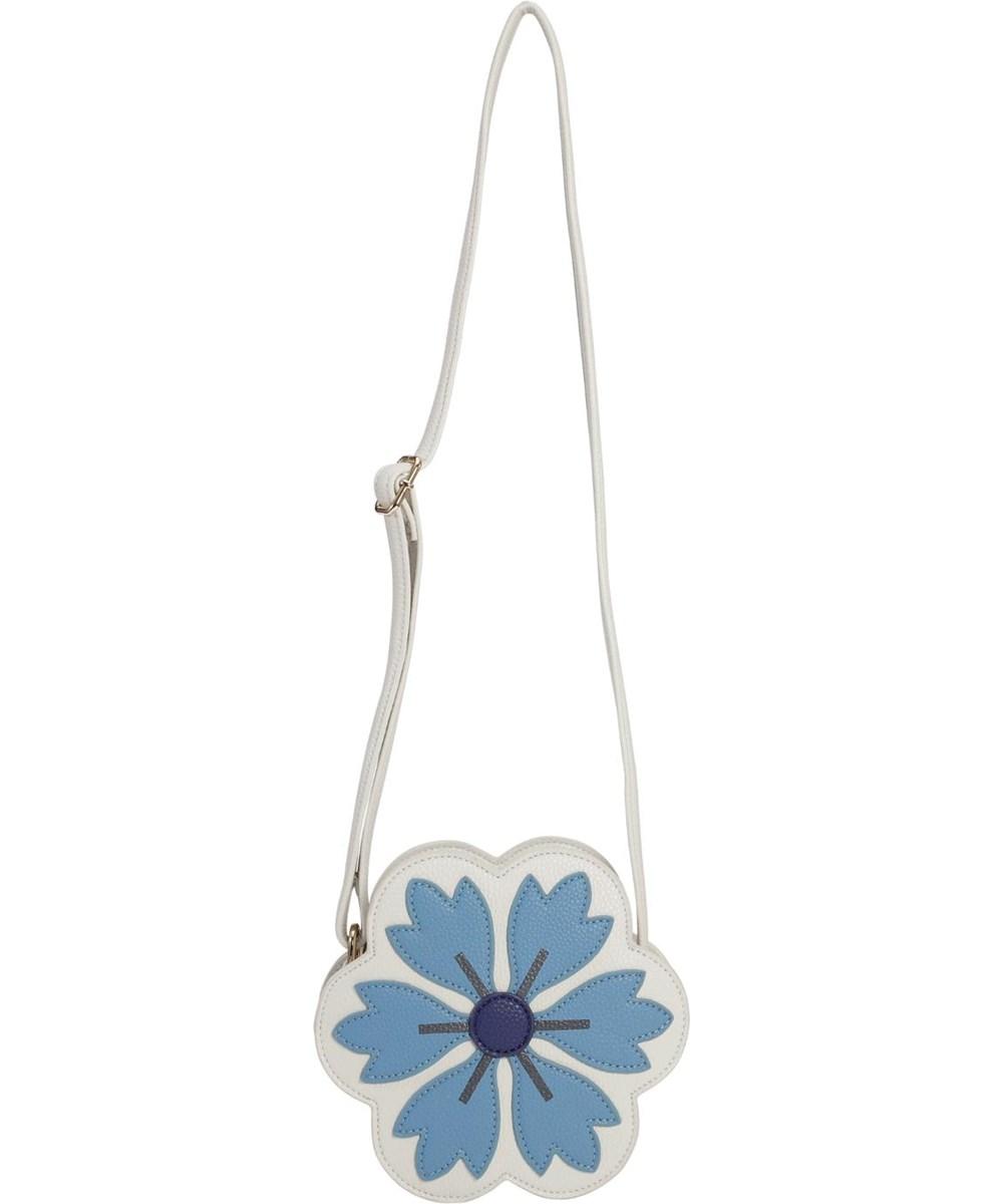 Flower Bag - Blue Daisy - Blommig crossbody väska