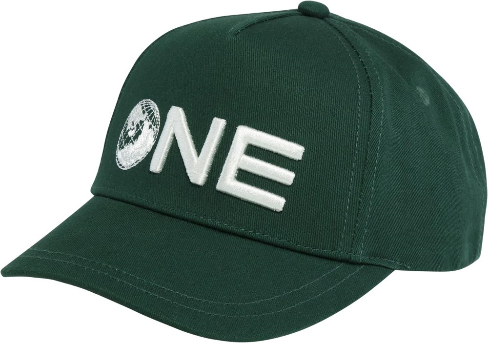 Sebastian - Eden - Groene one Earth baseball cap