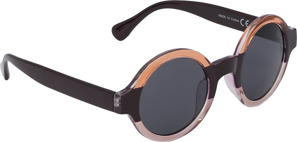 Selah - Shadow - Gestreepte fashion zonnebril