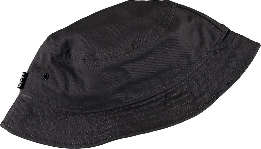 Seven - Night Grey - Donkergrijze bucket hoed