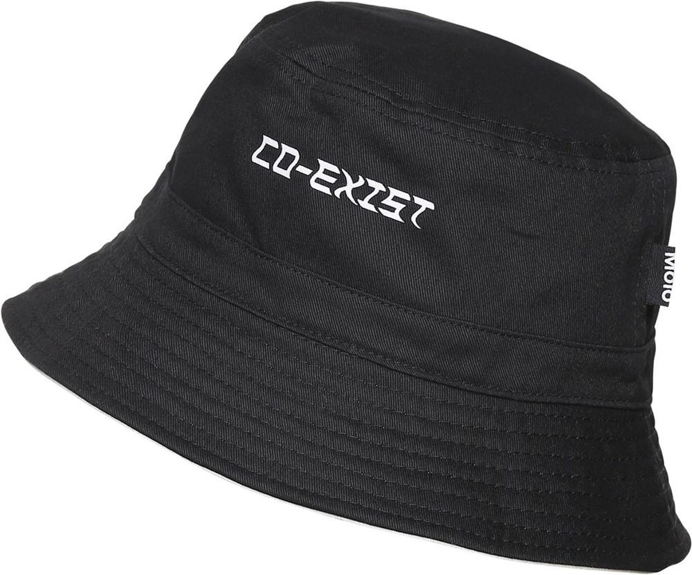 Siks - Black - Zwart en witte bucket hat