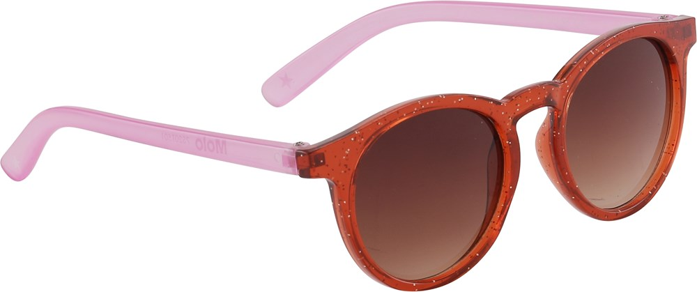 Sun Shine - Red Sand - Rood met roze zonnebril