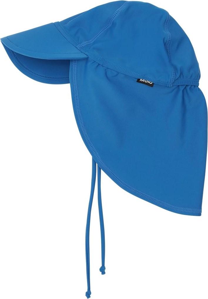Nando - Snorkle Blue - UV baby zonnehoed in blauw