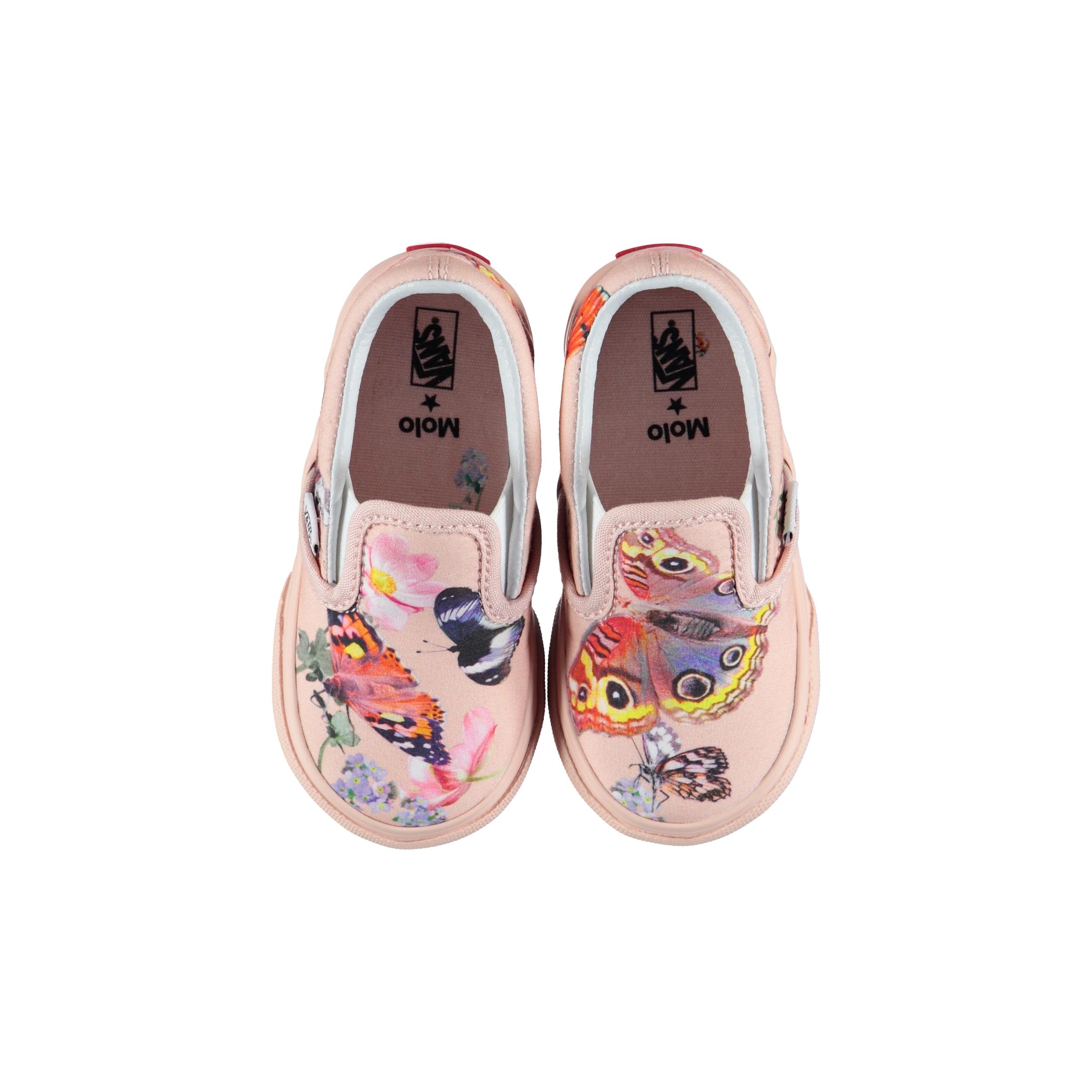 Vans x Molo 7 Toddler Slip On Pink