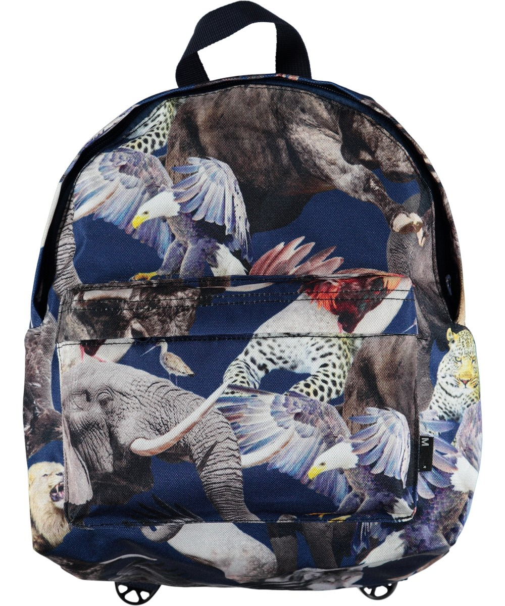 8e03ec36261 Backpack. Klik om in te zoomen. Backpack - National Animals - Rugzak met  print van Werelds Nationale dieren