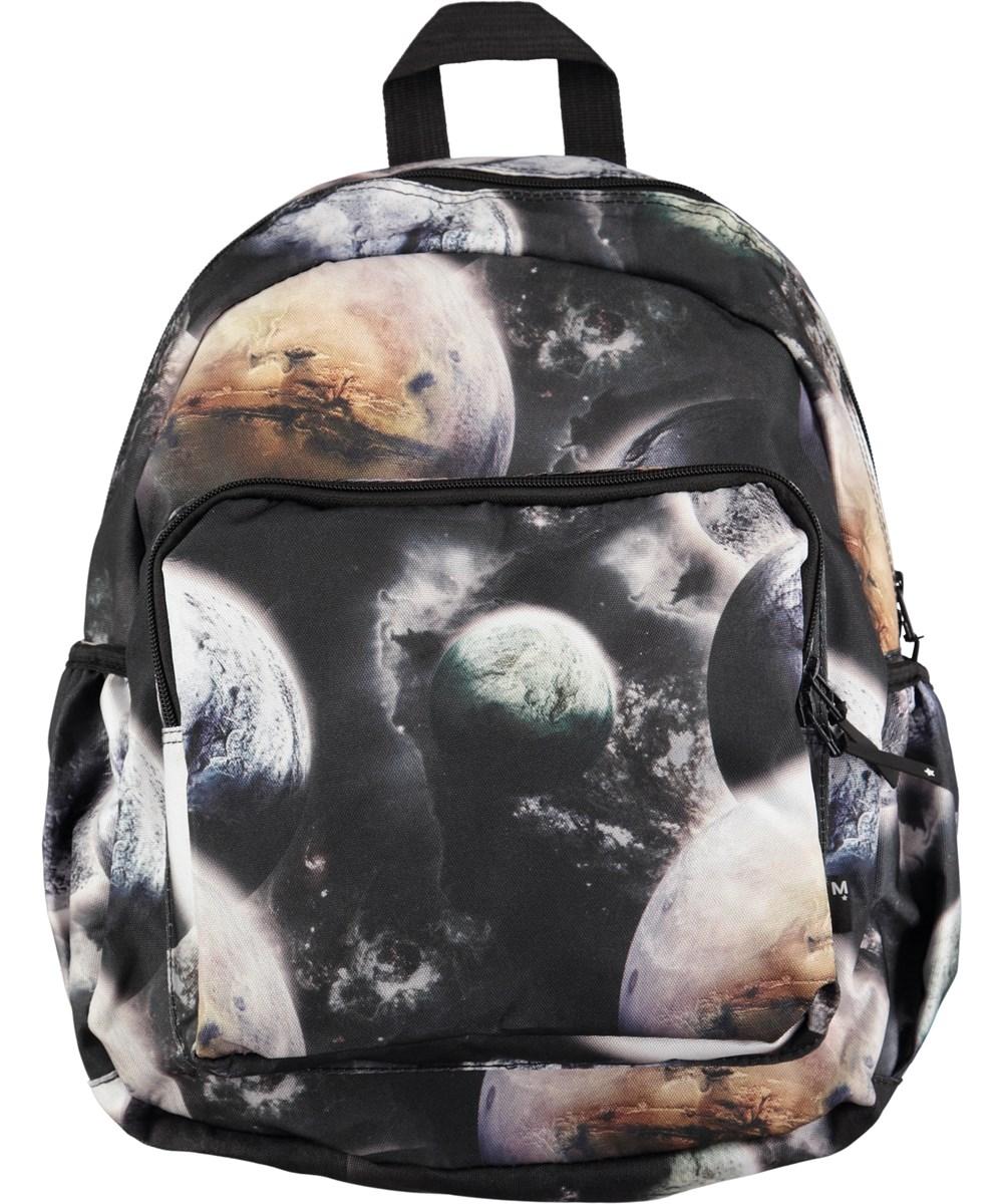 f947bc456fe Big Backpack - Planets - Ruime rugzak met digitale ruimteprint - Molo