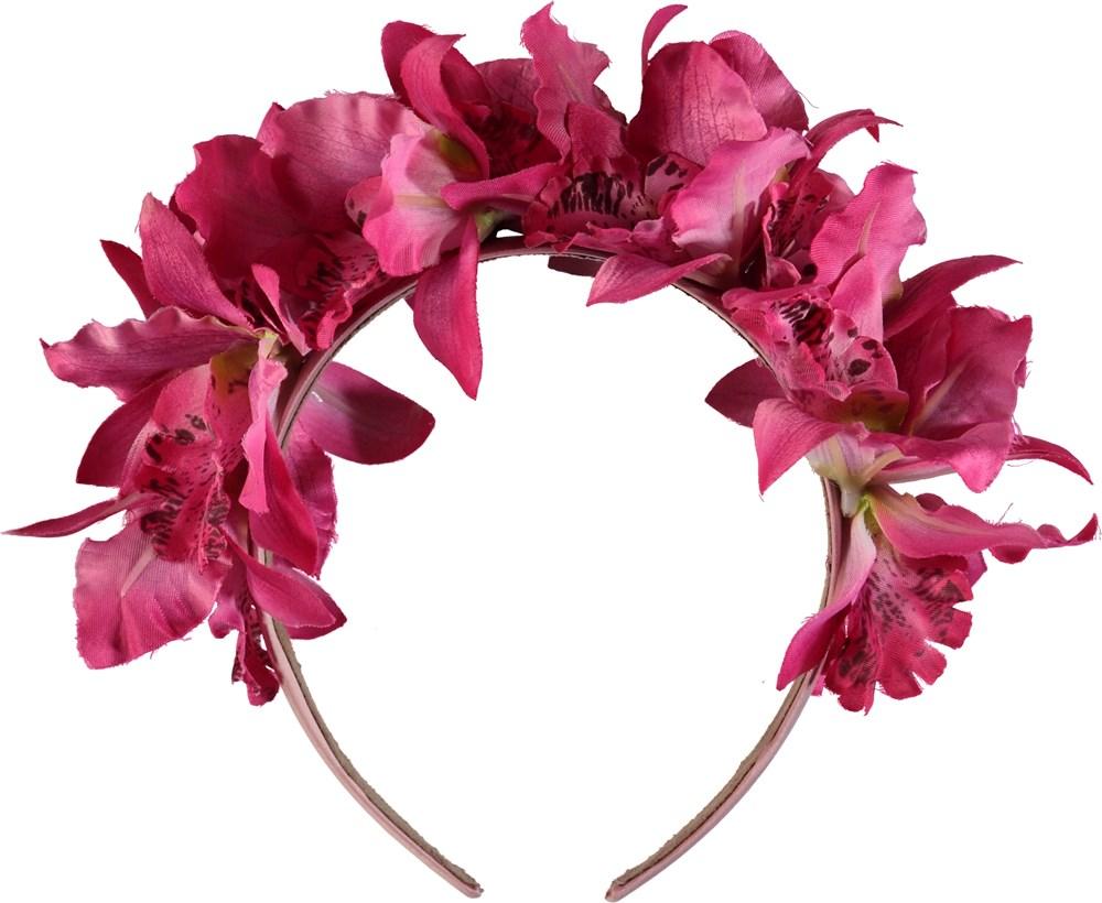 Floral Hairband - Multi Color - - Multi Color