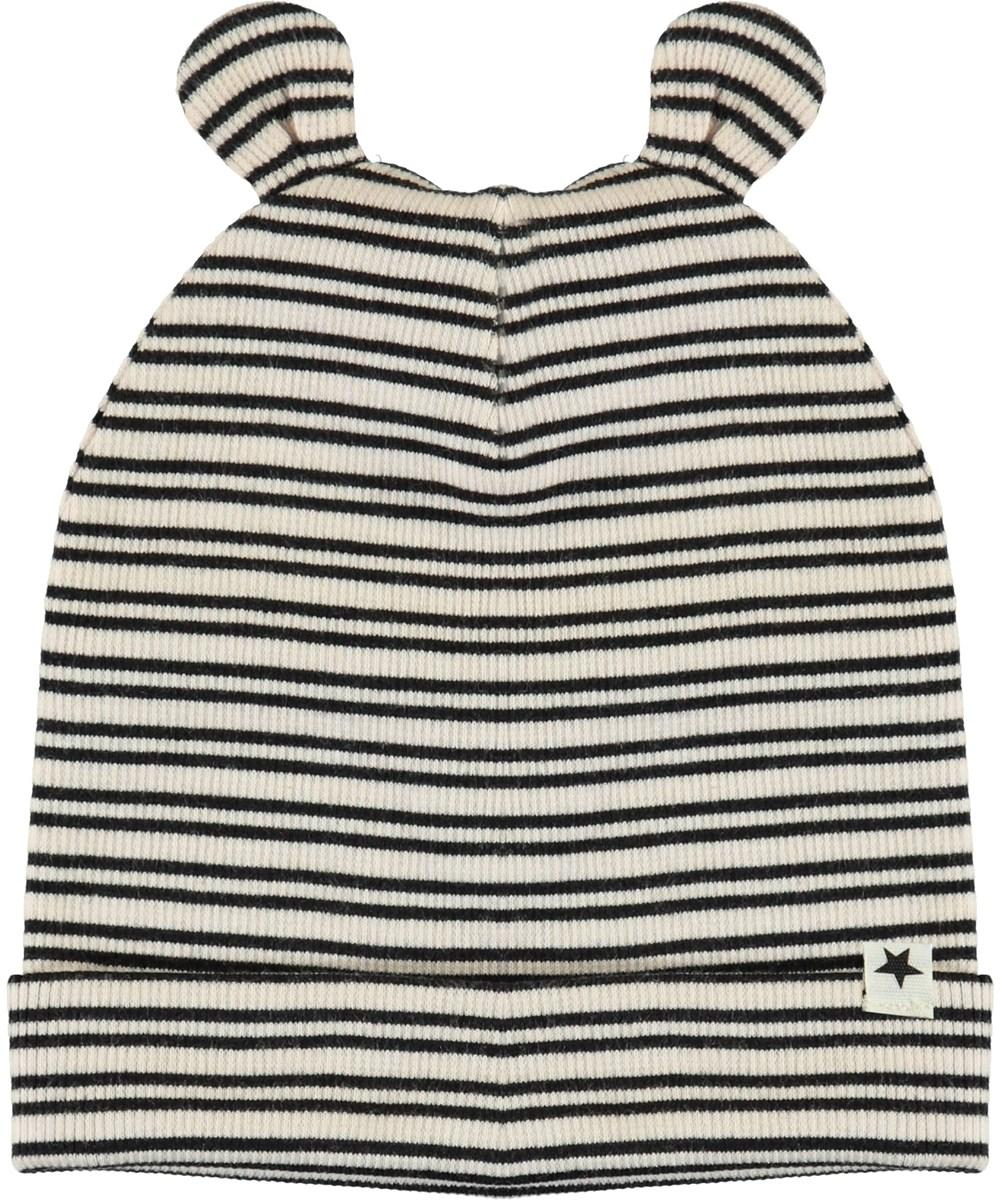 Natali - Blossom Black Stripe - Soft Rib