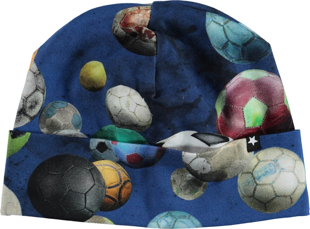 Nico - Cosmic Footballs - Hat with with footballs.