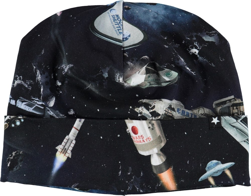 Nico - Space Traffic - Hat with spaceships.