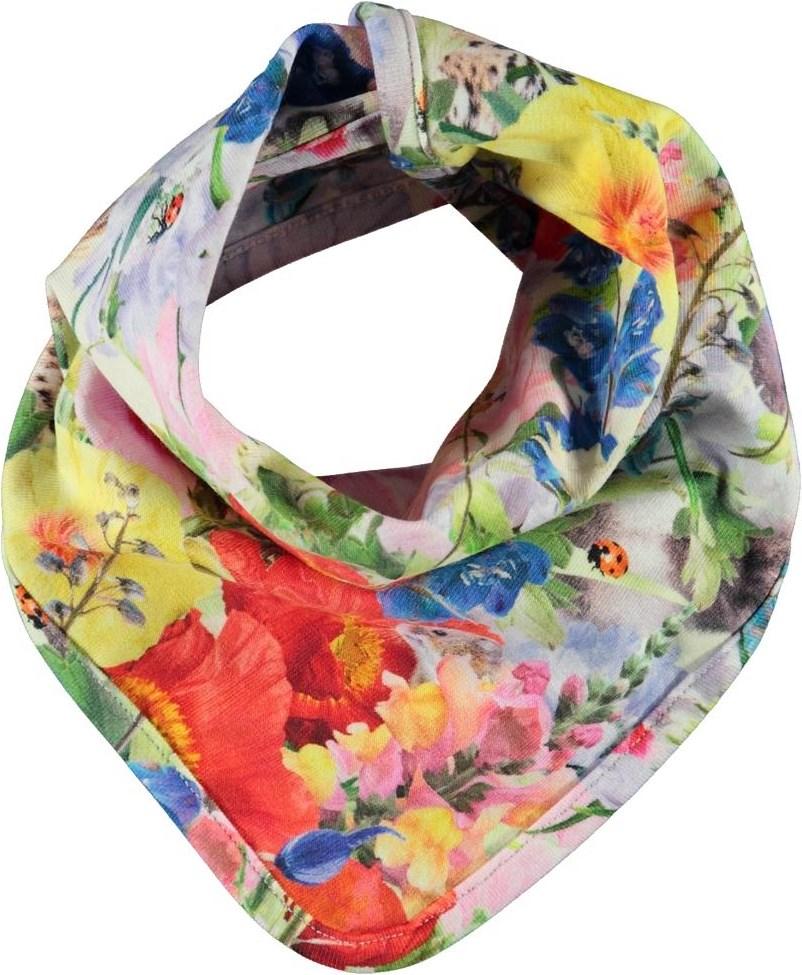 Nishi - Hide And Seek - Bib with floral print