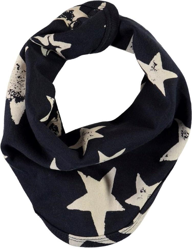 Nishi - White Navy Star - Fine rib