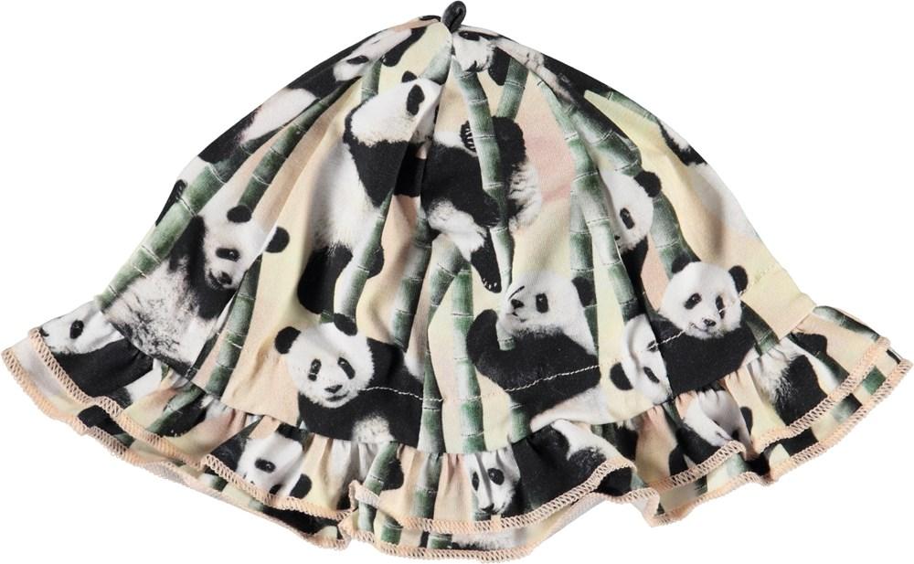 Nizana - Yin Yang - Organic baby sun hat with panda