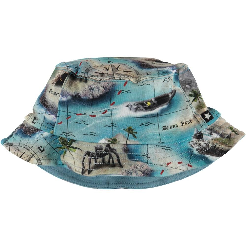 Nomly - Treasure Map - Bucket Hat - S
