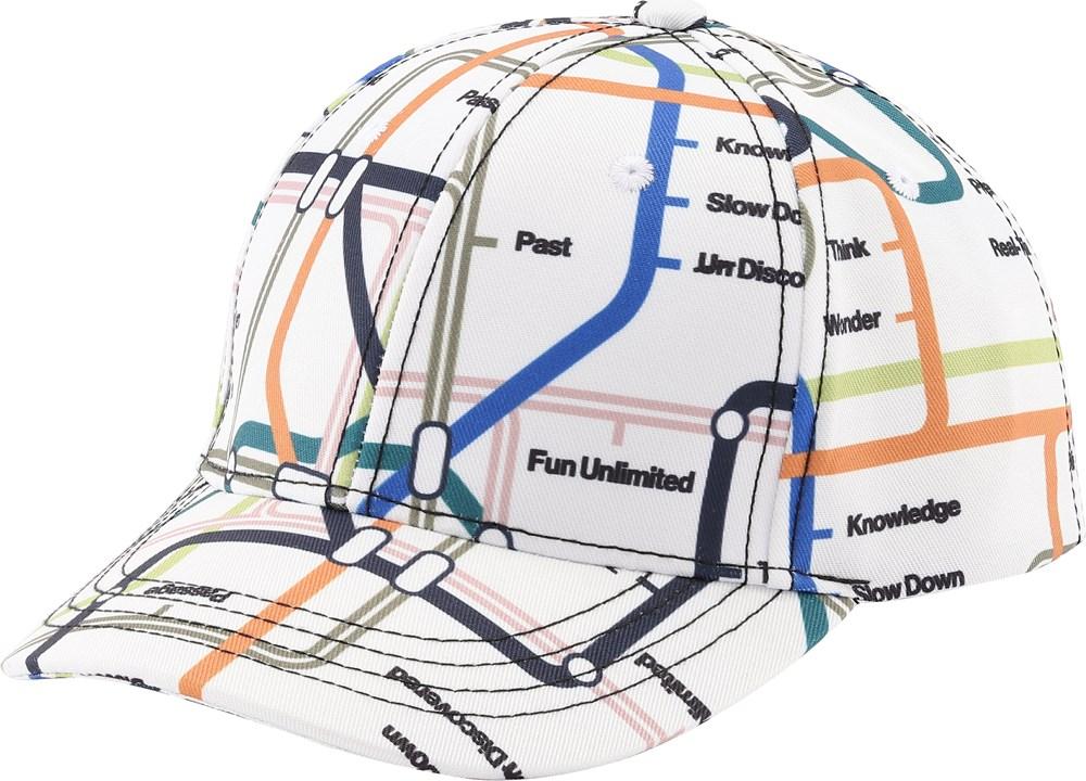 Sebastian - Subway Map - Baseball cap with print.