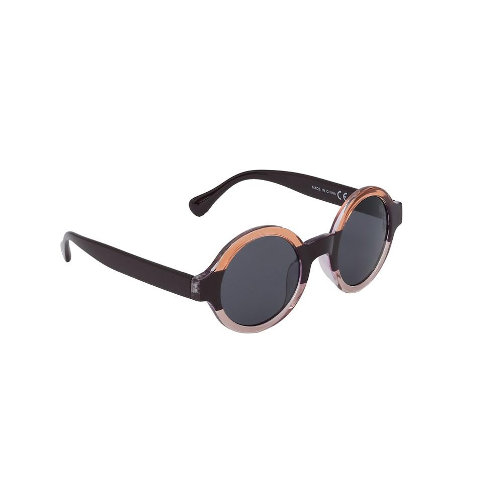 Selah - Shadow - Striped fashion sunglasses