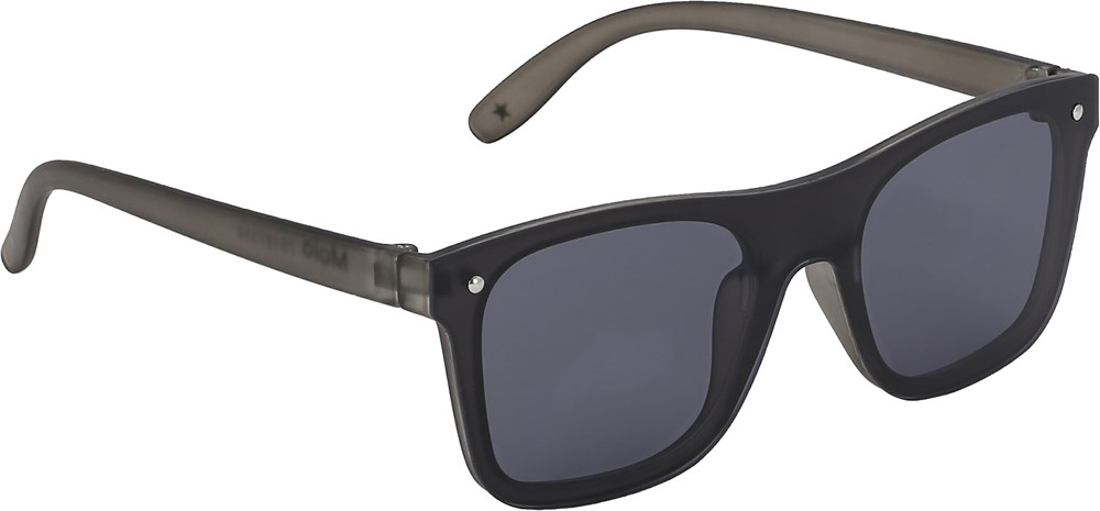 Seth - Skate - Black rectangular sunglasses