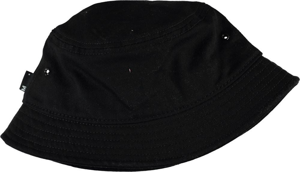 Seven - Black - Black bucket hat