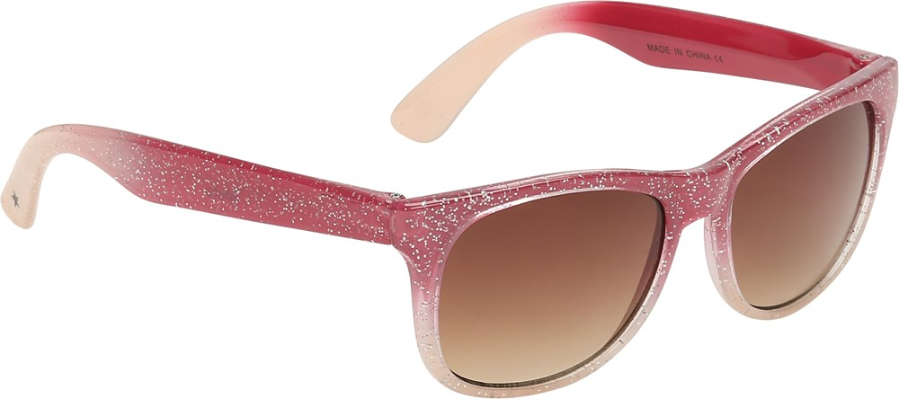 Shades - Glitter - Pink sunglasses with glitter