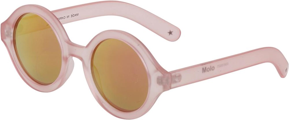 Shelby - Fuchsia Pink - Rose-coloured sunglasses with UV