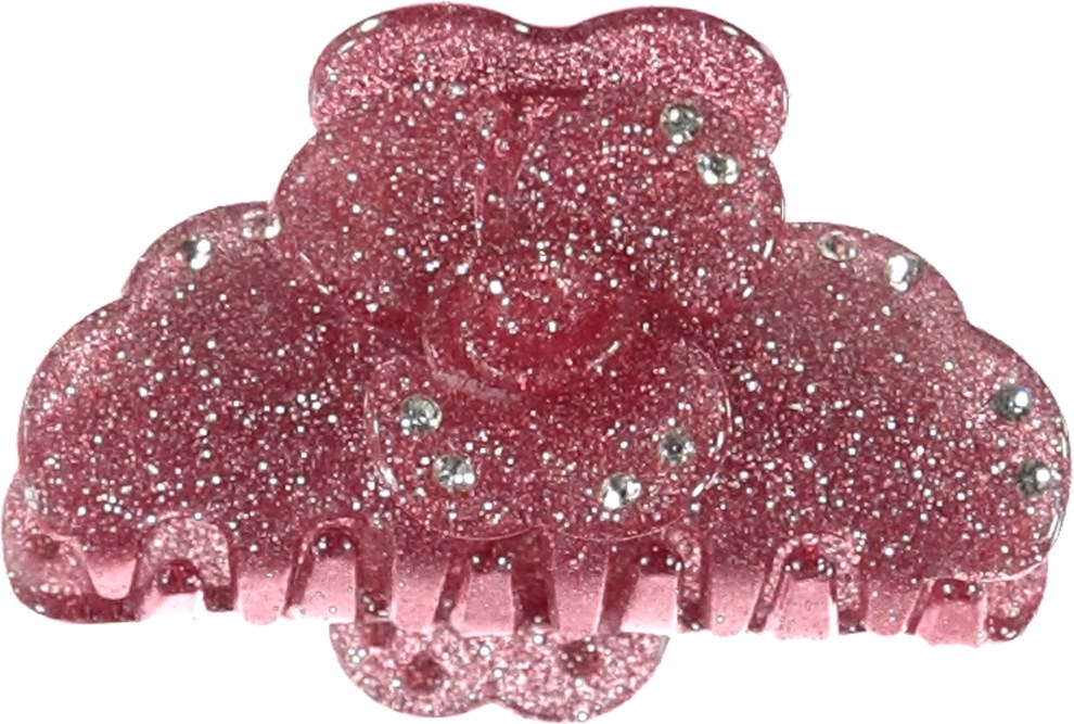 Shimmer Hairclip - Powder - Hair clip with glitter