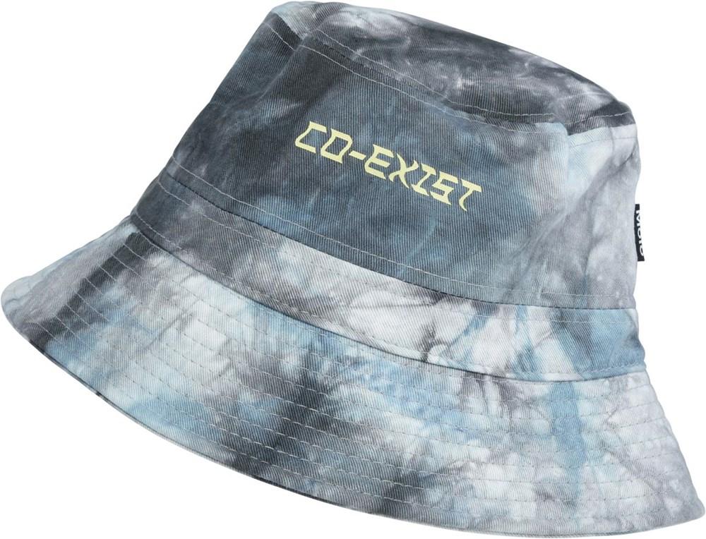 Siks - Colour Blobs - Blue tie-dye bucket hat