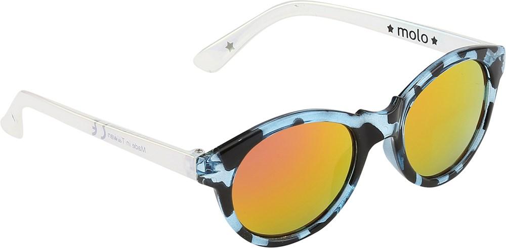 Simba - Multi - blue leopard print baby sunglasses