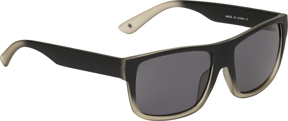 Skipp - Black - Black sunglasses with fading effect