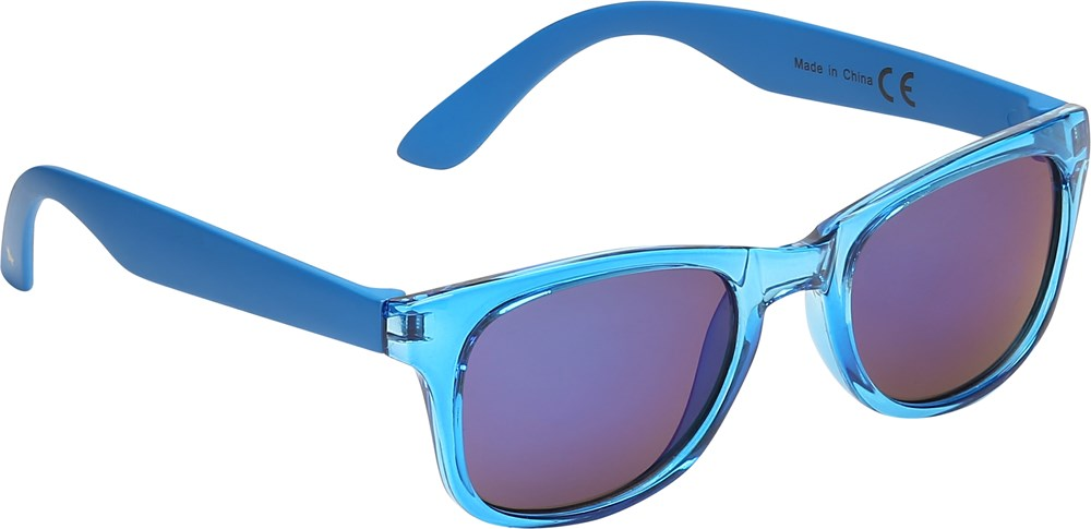 Star - Ibiza Blue - Blue sunglasses with transparent front