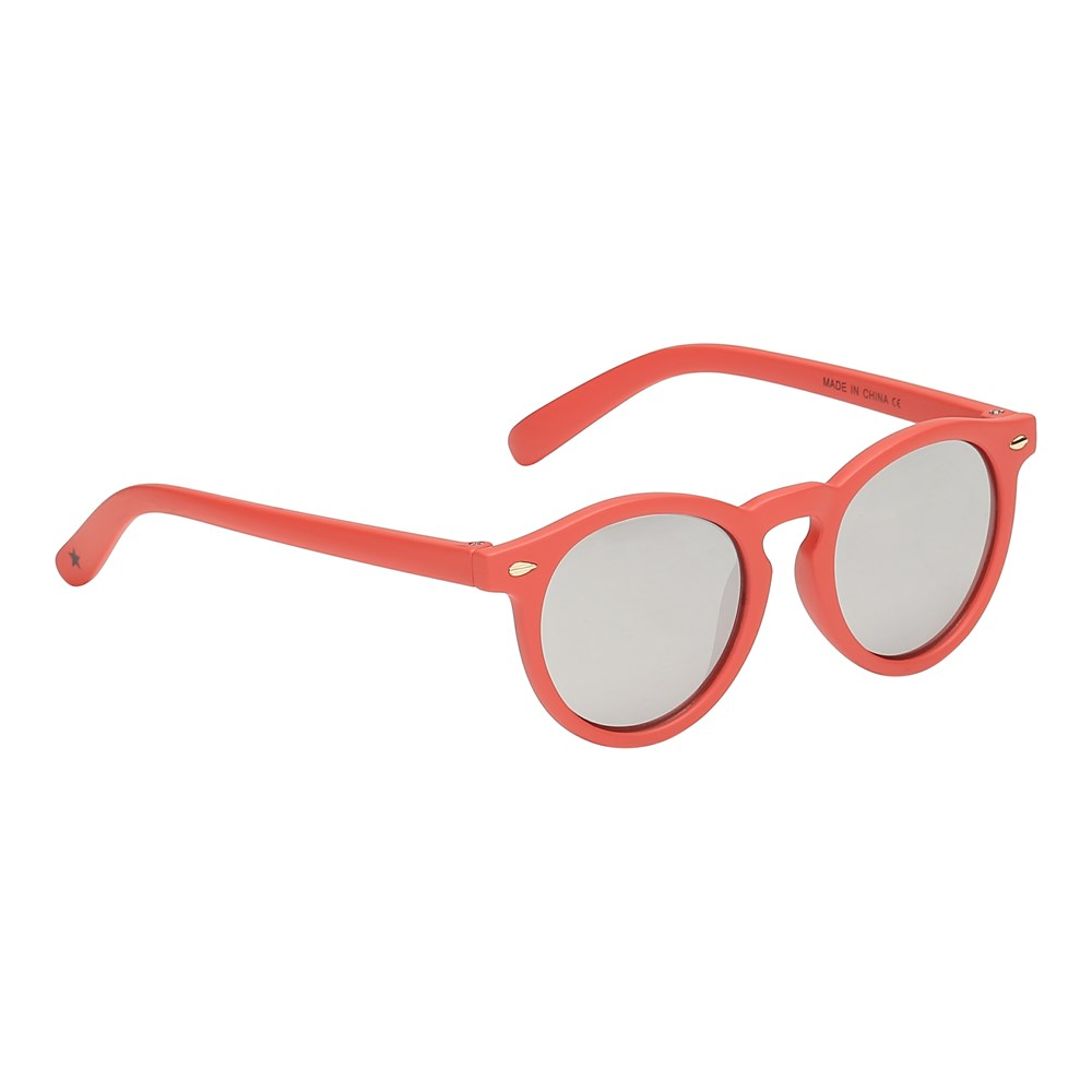 Sun Shine - Georgia Peach - Orange-red baby sunglasses
