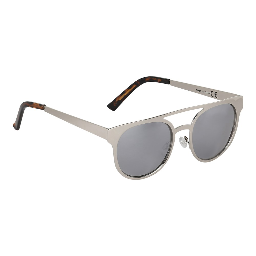 Sunset - Chrome - Sunglasses in silver coloured metal frame