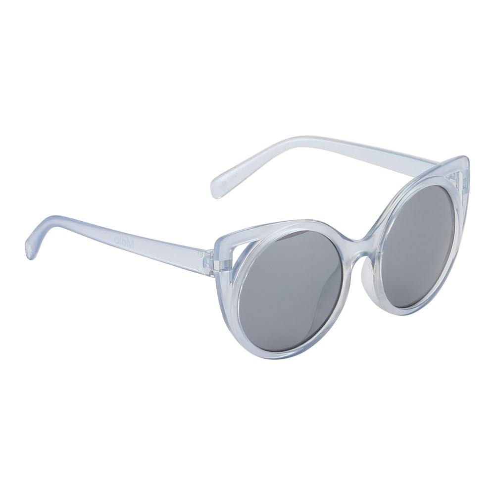 Super Star - Halogen Blue - Transparent cat eye sunglasses