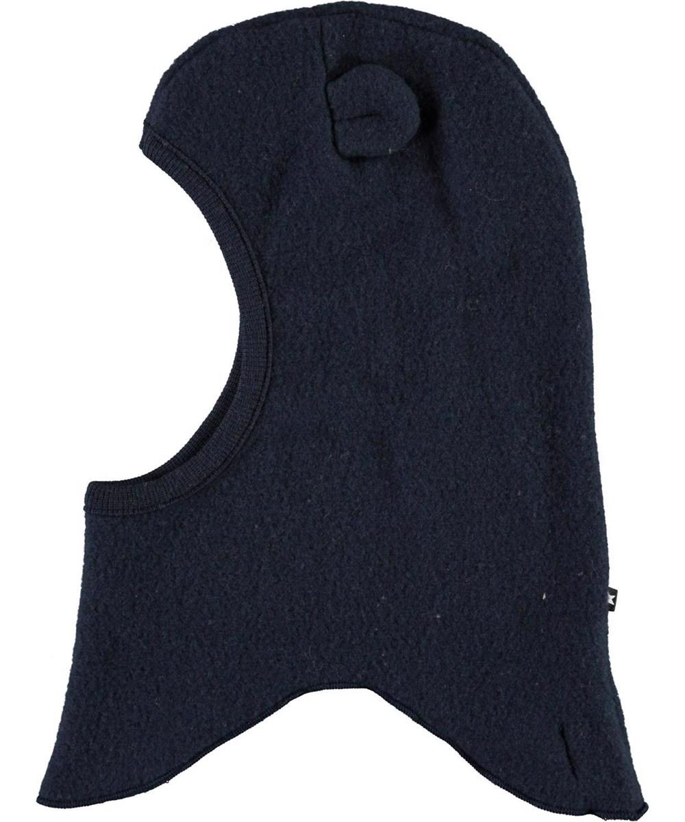 Urso - Dark Navy - Blue wool ski mask