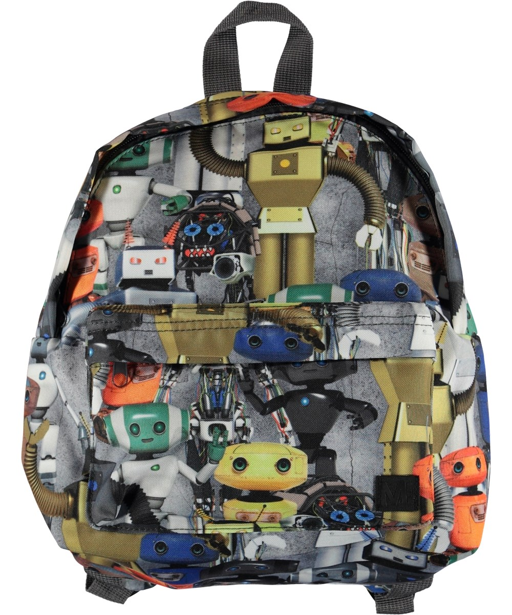 Backpack - Robots - Backpack with robot print.