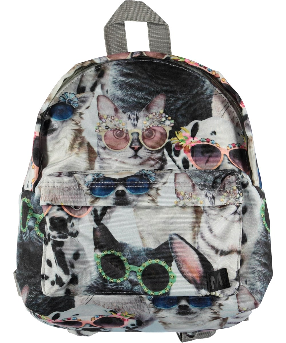 Backpack - Sunny Funny - Backpack with animal print.
