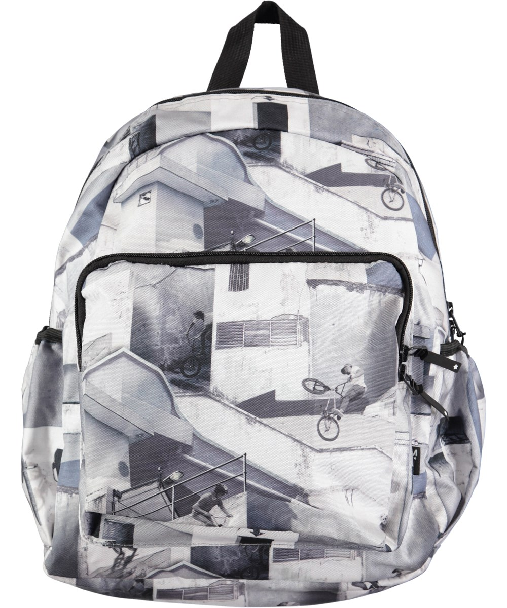 2ba60b2dc2b Big Backpack - BMX - Roomy backpack with digital BMX print - Molo