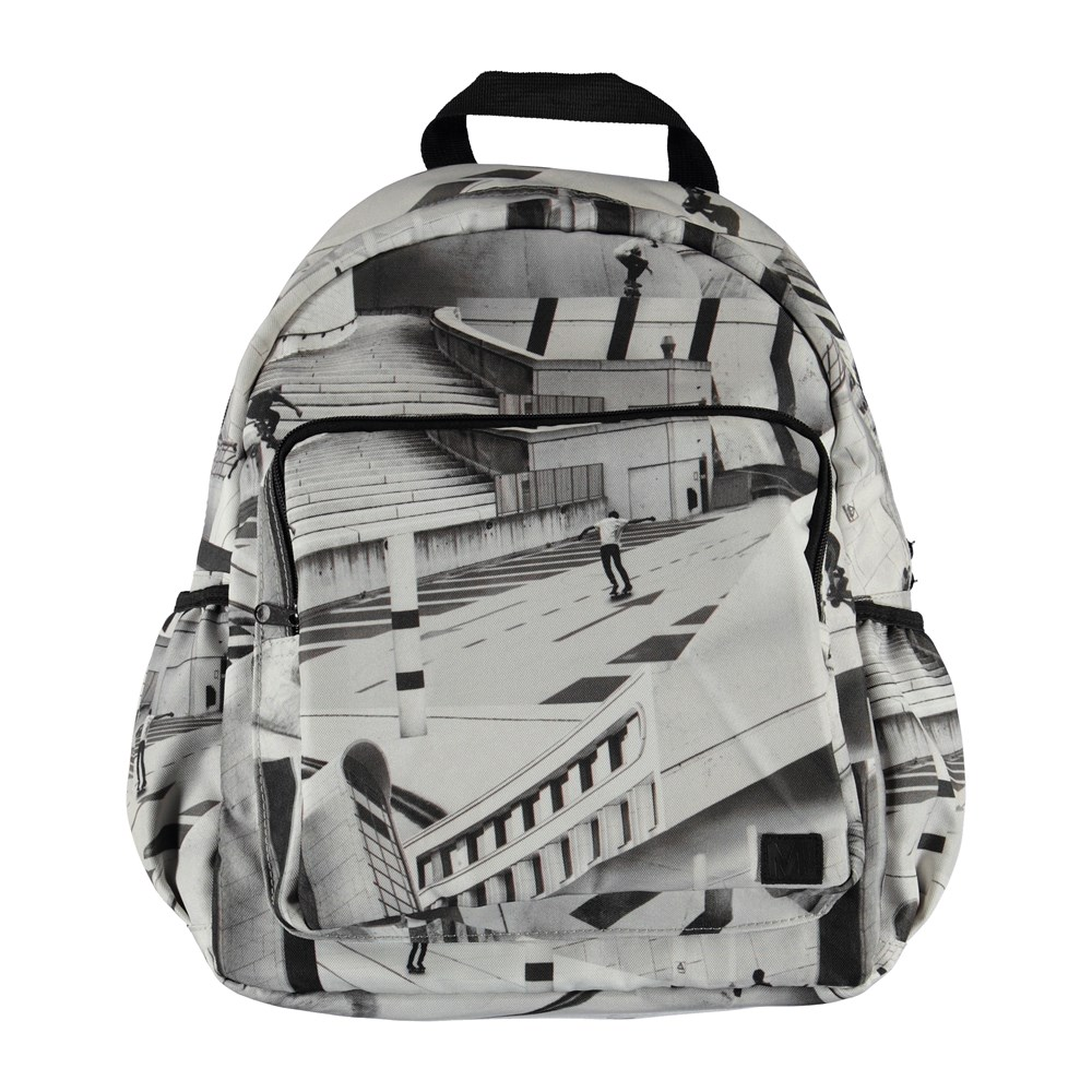 Big backpack - City Skate - Large backpack with skater print.