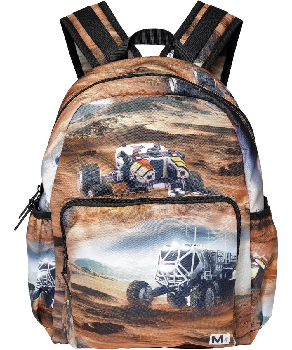 Big Backpack - Mars - Recycled rucksack with mars print