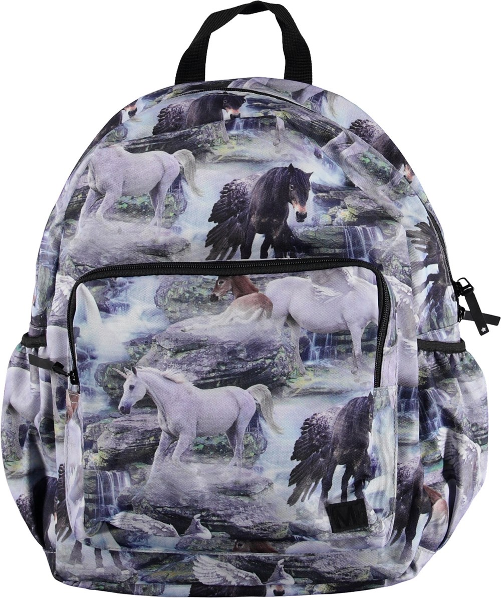 Big Backpack - Mythical Creatures - Backpack with unicorns.